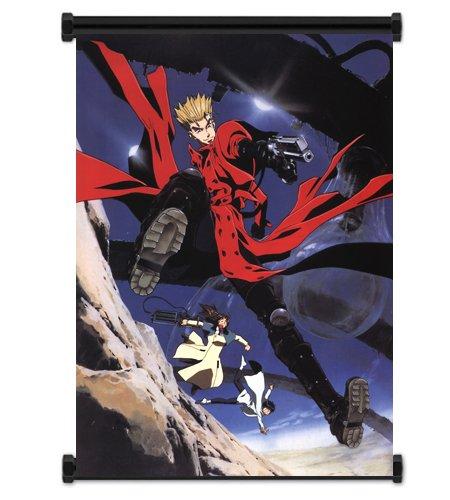 Trigun Anime Fabric Wall Scroll Poster (31