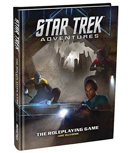 Modiphius Entertainment Star Trek Adventures Core Rulebook Role Playing Game by Modiphius Entertainment