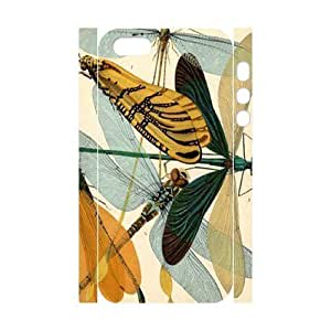 Beautiful Dragonfly Customized 3D Cover Case for Iphone 5,5S,custom phone case ygtg-310417