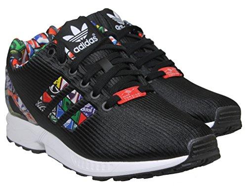 Homme Adidas Flux Zx Basses Baskets Noir vqF0q17w