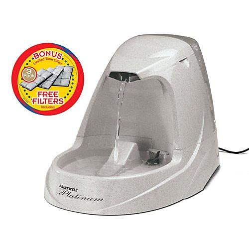 UPC 729849147508, Petsafe Drinkwell Platinum Pet Fountain with Bonus Filters