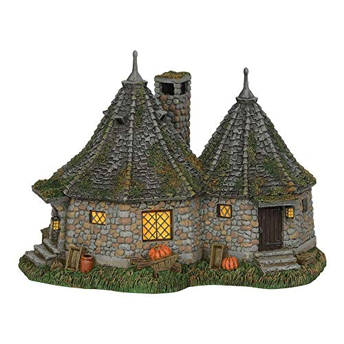 Department 56 Harry Potter Village Hagrid's Hut Lit for sale  Delivered anywhere in USA