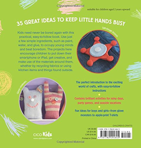 Green crafts for children 35 step by step projects using natural green crafts for children 35 step by step projects using natural recycled and found materials emma hardy 9781782494645 amazon books thecheapjerseys Gallery
