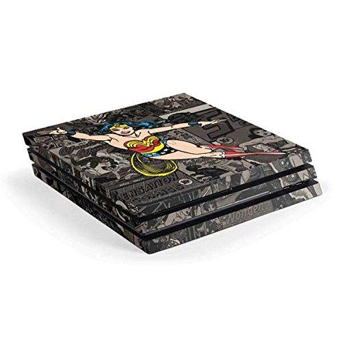 Wonder Woman PS4 Pro Console Skin - Wonder Woman Mixed Media | DC Comics X Skinit Skin