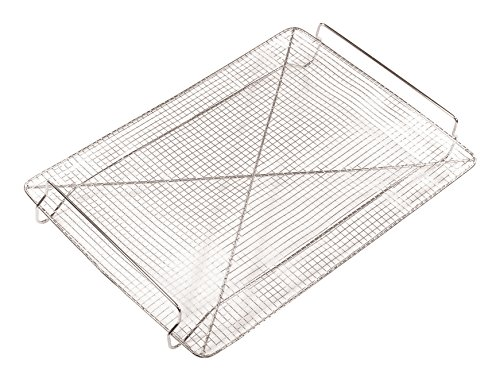 Paderno World Cuisine A4982329 Stainless Steel Cooling Rack with Handles, Gray ()