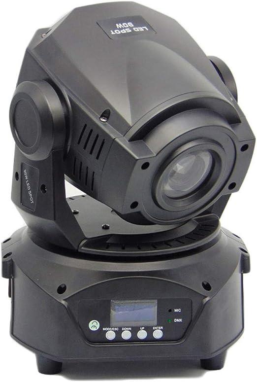 Escenario Luz Proyector de luz de escenario 90W LED Cabeza móvil ...