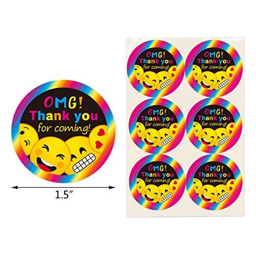 Emoji Gift Bags Birthday Party Favor Candy Goodie Emoticon Fun Classroom Treats Rewards