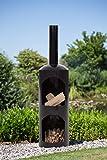 Redfire 88017 Odin 165 cm Fireplace, Black