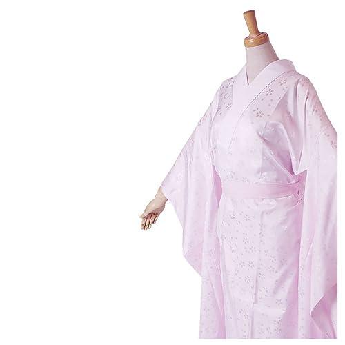 届いてすぐ着れる洗える振袖用長襦袢(半衿付)《選べる4サイズ》[ピンク/プレタ/地紋入/仕立て上がり/S/M/L/LL](L寸)