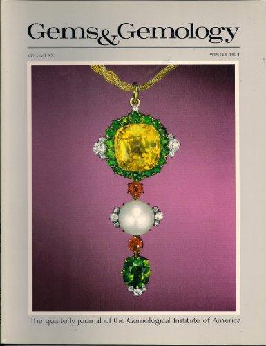 Gems & Gemology (Winter 1984, Volume XX, Number 4)