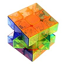 Transparent Magic Cube Crystal Stickerless 3x3x3 Speed Magic Cube