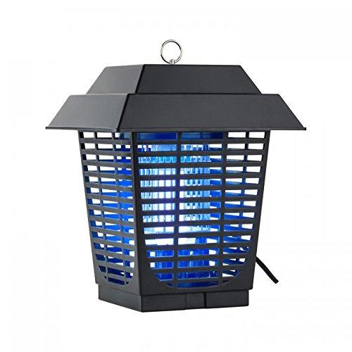 Duramaxx Ex Lantern /• pi/ège /à Insectes /• Chasse-moustiques /• Anti-moustiques /• Grille /électrique /• Lampe UV /• /électrique /• lumi/ère Bleue pour Attirer /• 20W /• IPX4 /• sans P