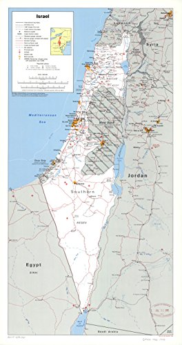 Map Poster - Israel