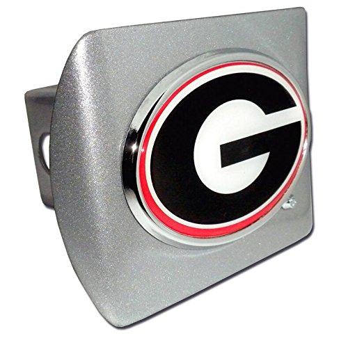 """University of Georgia Bulldogs """"Brushed Silver with Chrome """""""