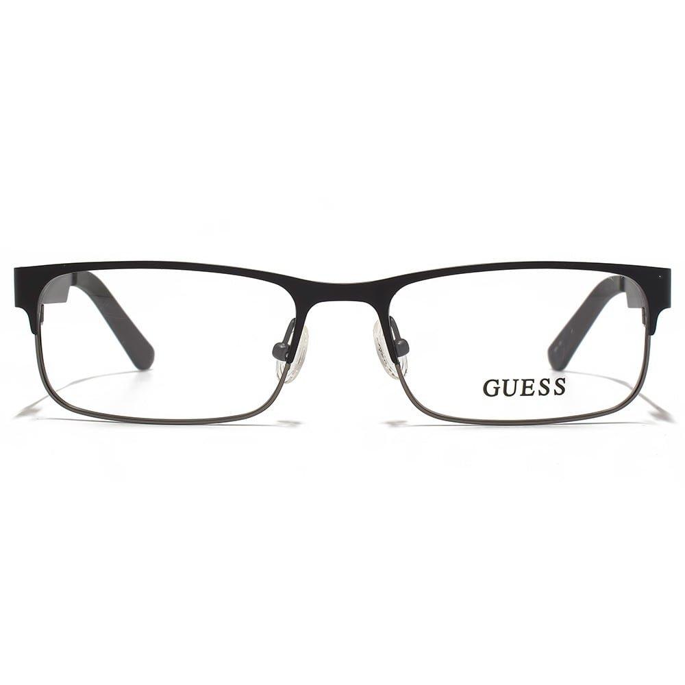 ed1726cc0c8be7 GUESS Eyeglasses GU 1731 Black 53MM at Amazon Women s Clothing store   Prescription Eyewear Frames