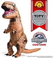 Rubie's T-Rex Jurassic World Universal Inflatable Costumes, T-Rex Inflatable with Sound, Talla única
