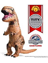 d66ff3a9b8 Adult Official Jurassic World Inflatable Dinosaur Costume