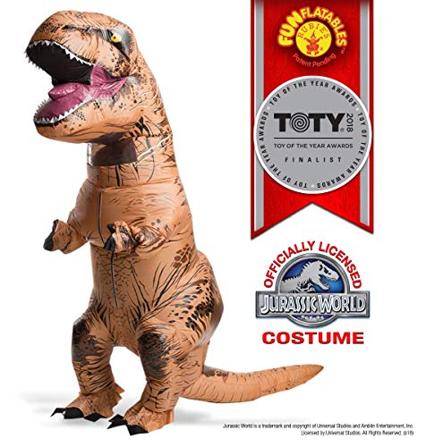 Rubie's Adult Jurassic World T-Rex Inflatable Costume]()