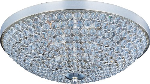 Maxim Lighting 39871BCPS Glimmer-Flush Mount Glimmer 4-Light Flush Mount