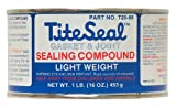 TITESEAL by GUNK  T2066-12PK Light Weight Sealing Compound - 1 lb., (Case of 12)