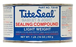 Tite Seal T2066 Light Weight Sealing Compound - 1 lb.