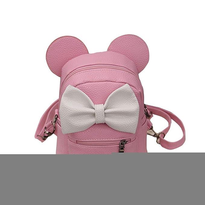 Amazon.com: ❤️Sunbona Mickey Mochila Mujer Mini Bolsa De ...