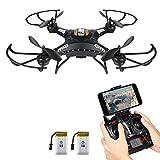 Potensic® F183WH fonction de maintenir l'altitude 2.4GHz 4CH 6-Axis Gyro RC Quadcopter Drone avec 1 mégapixels caméra, 360 degrés Eversion Fonction