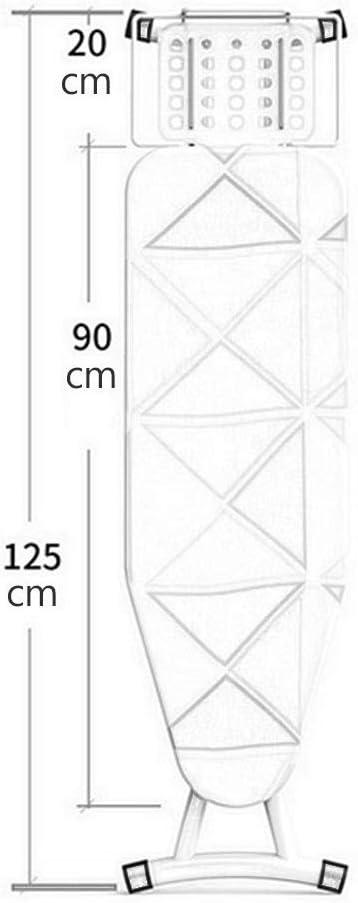 Planche A Repasser, Table Pliable Vapeur Repassage Reglable Hauteur Repassage Confortable Stockage Facile Ne Pas Prendre De Place ÉPaissi Stable Pieds AntidéRapants Domestique(D) G