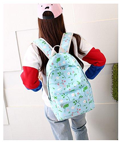 Jane Simple - Bolso mochila  para mujer multicolor Bc-pinkbear Ad-springdove