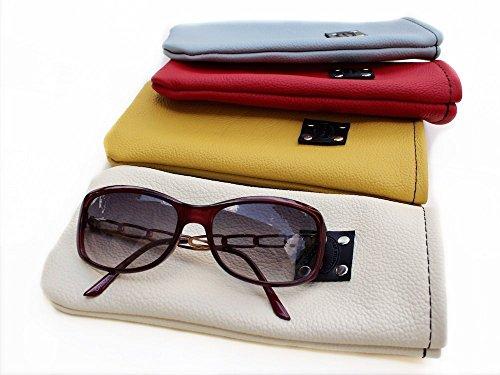Genuine Leather Sunglasses Case