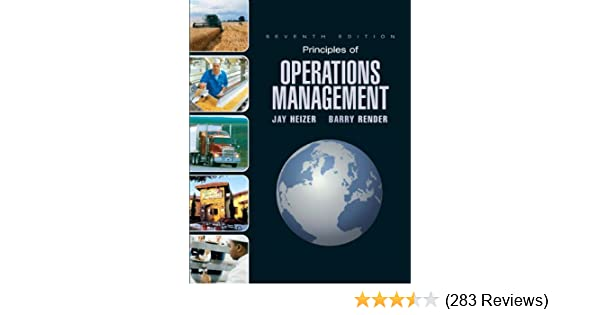 Principles Of Operations Management 7th Edition Jay