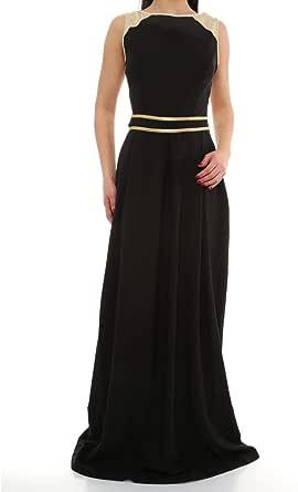 فستان خامات متعددة مناسبة خاصة -نساء