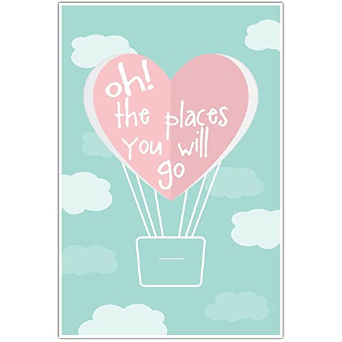 amazon com oh the places you will go wedding anniversary wall art