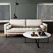 Nouhaus Module, Sleeper Sofa Bed Couch. 7ft Luxury Convertible Sofa Futon Bed with No Roll Together Latex. Gre