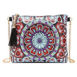 Women Cross-body Flowers Diamond Painting Bag
