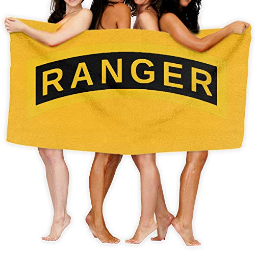 Sajfirlug US Army Retro Ranger Fashion Over-Sized Beach Bath Towels -