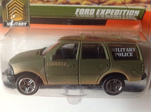 Matchbox CHASE Military Ford Expedition Olive Green #54 With Matchbox 2000 (Expedition Olive)