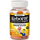 Cheap Airborne Assorted Fruit Flavored Gummies, 21 count – 1000mg of Vitamin C and Minerals & Herbs Immune Support