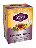 Yogi Teas Egyptian Licorice, 16 Count (Pack of 6), Packaging May Vary