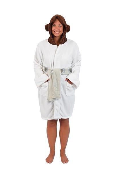Star Wars Princess Leia Hooded Bata de baño de Mujeres | L/XL ...