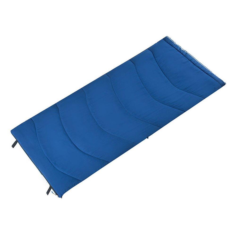 LJHA shuidai エンベロープ寝袋/スプライサブル/厚手/屋外キャンプハイキング/コットン長方形の寝袋(2色使用可能)(190 * 84cm) (色 : B) B07FCFGNSW  B