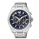 Citizen Men's Eco-Drive CA4010-58L Silver Titanium Eco-Drive Watch