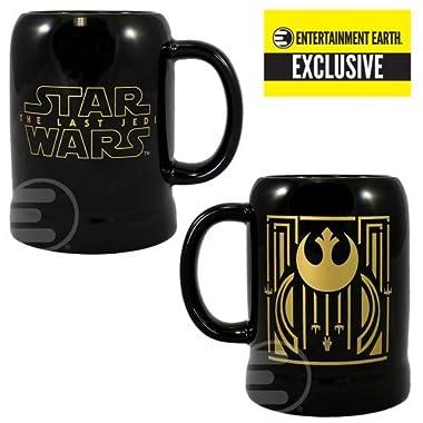 Star Wars: The Last Jedi Rebel Symbol 20 oz. Ceramic Stein - Entertainment Earth Exclusive