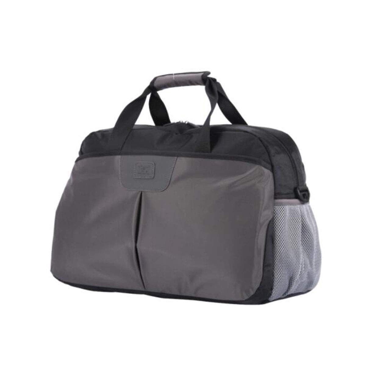 Fitness Bag, Multi-Function Large Capacity Business Short-Distance Travel Bag, Gray Size: 49 * 17 * 32cm (Color : Gray)