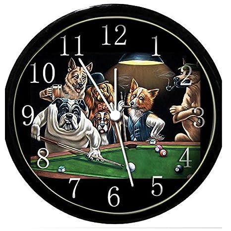 Amazon.com: Resplandor en la oscuridad – Reloj de pared ...
