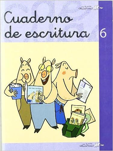 Mis primeros calcetines, cuaderno de escritura 6, Educación Infantil, Educación Primaria: TERESA SOLER COBO;JOSEP GREGORI SOLER: 9788496514706: Amazon.com: ...