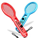 Tennis Racket for Switch Joy-con, BEBONCOOL 2 Pack Mario Tennis Racket for Nintendo Switch Joy-con Grips fits Mario Tennis Aces Game