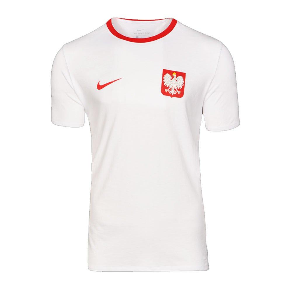 2018-2019 Poland Nike Crest Tee (White) B07BVW4JZ5White Large 42-44\