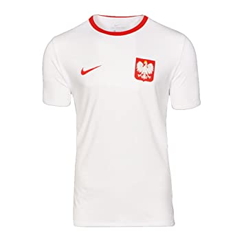 3260947d4 Nike 2018-2019 Poland Crest Tee (White): Amazon.co.uk: Sports & Outdoors