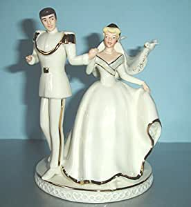disney cinderella wedding cake toppers lenox disney princess cinderella wedding cake 13549